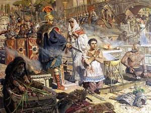 Диоклетиан и Александра и Георгий Поб